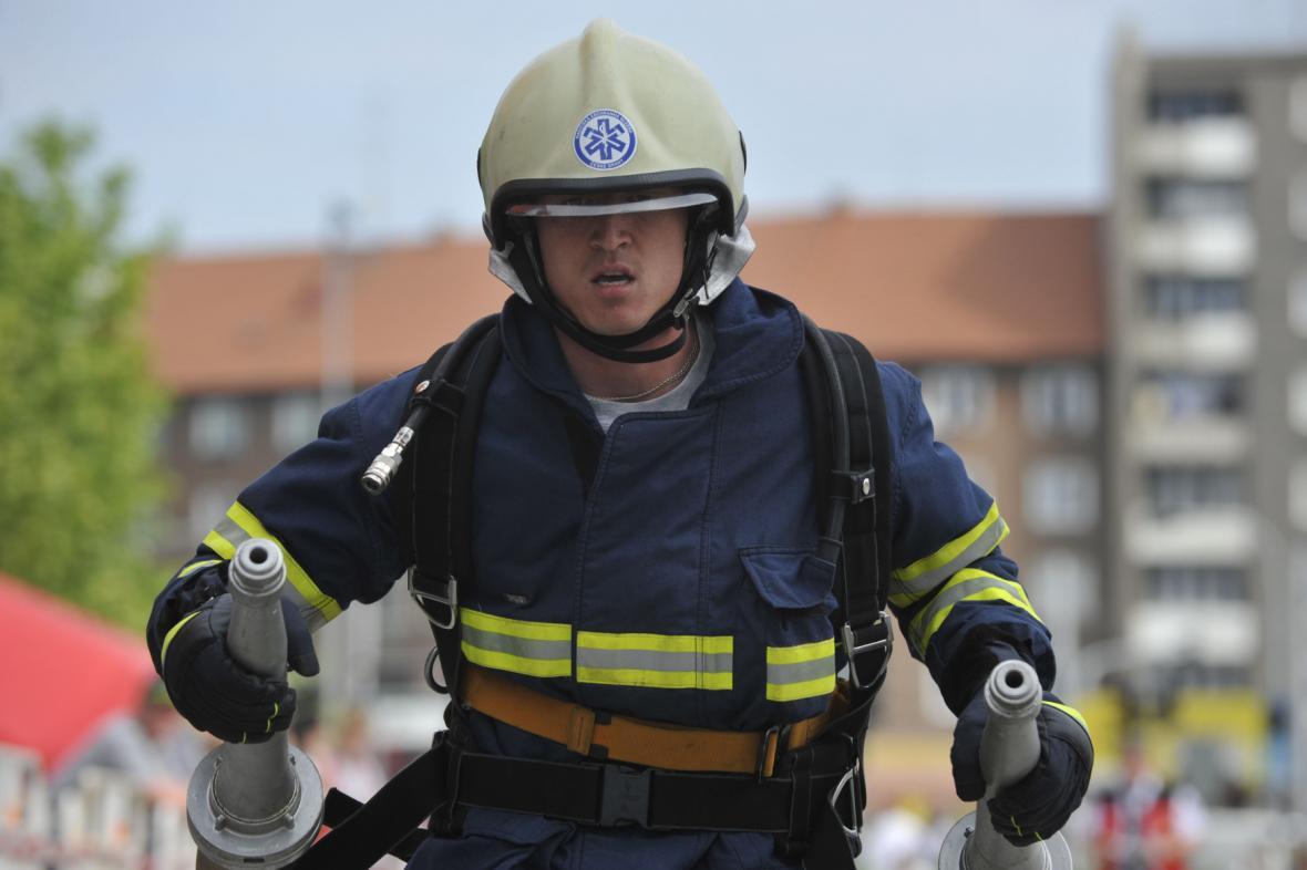 Extrémní závod hasičů