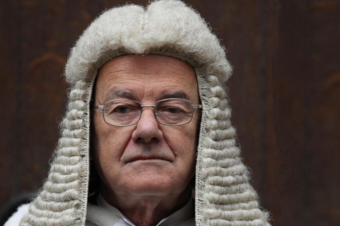 Britský soudce