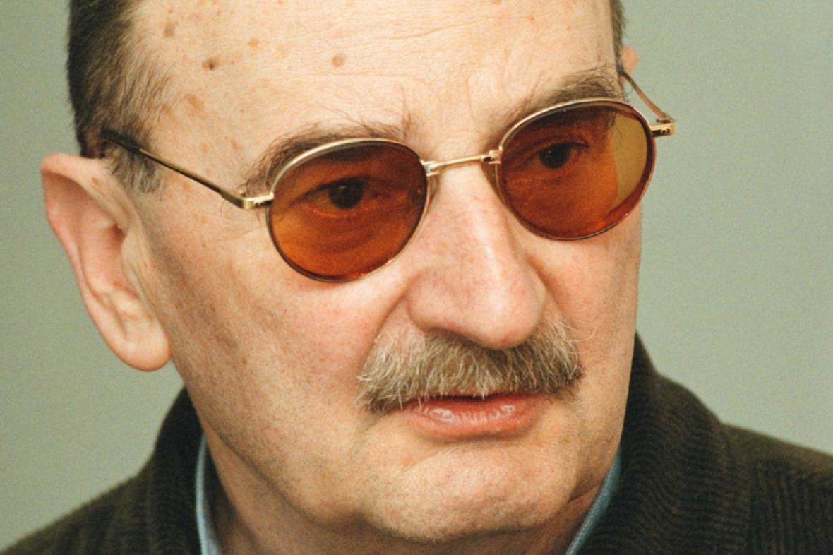 Polský dramatik Slawomir Mrožek