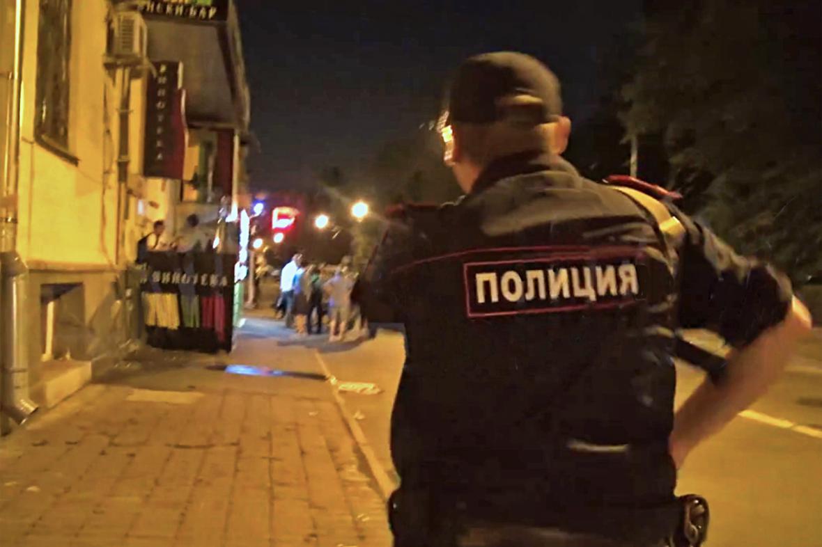 Policejní zásah proti skupině Navalného bratři