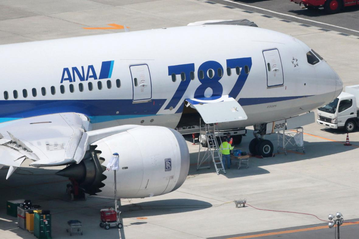 Dreamliner společnosti ANA