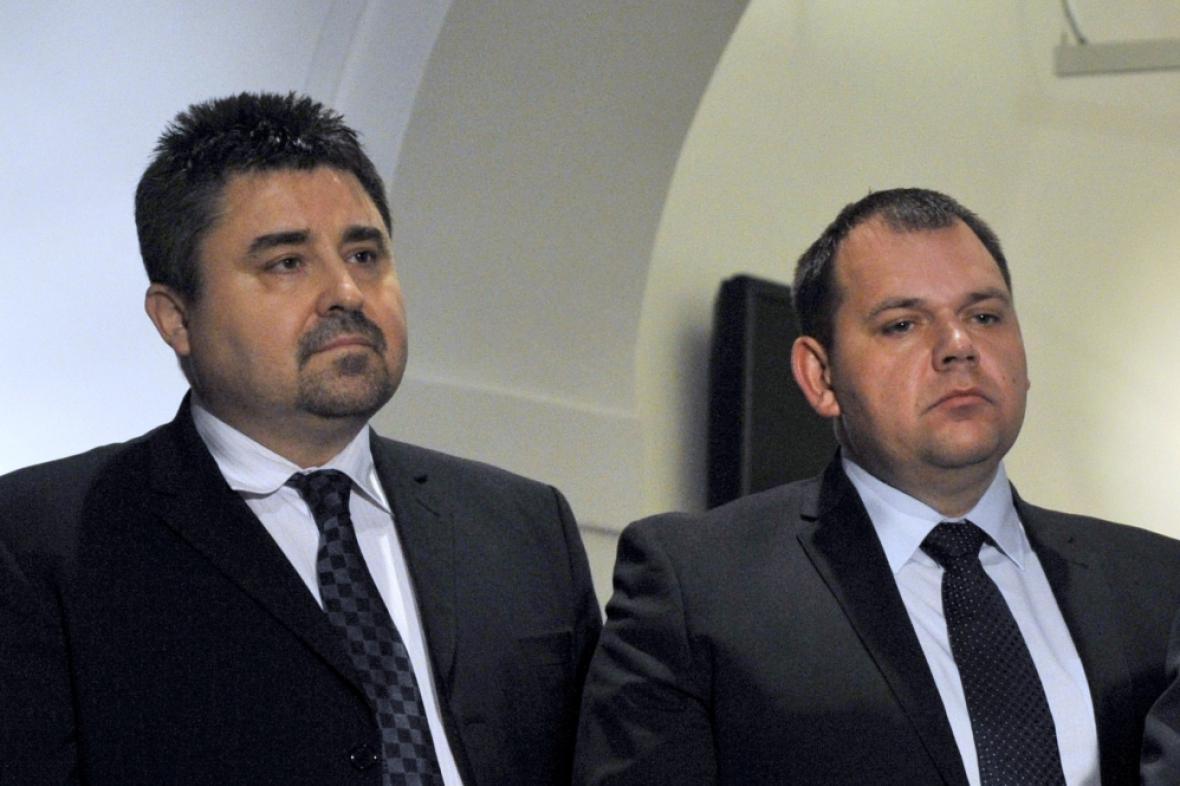 Tomáš Úlehla a Jan Florián