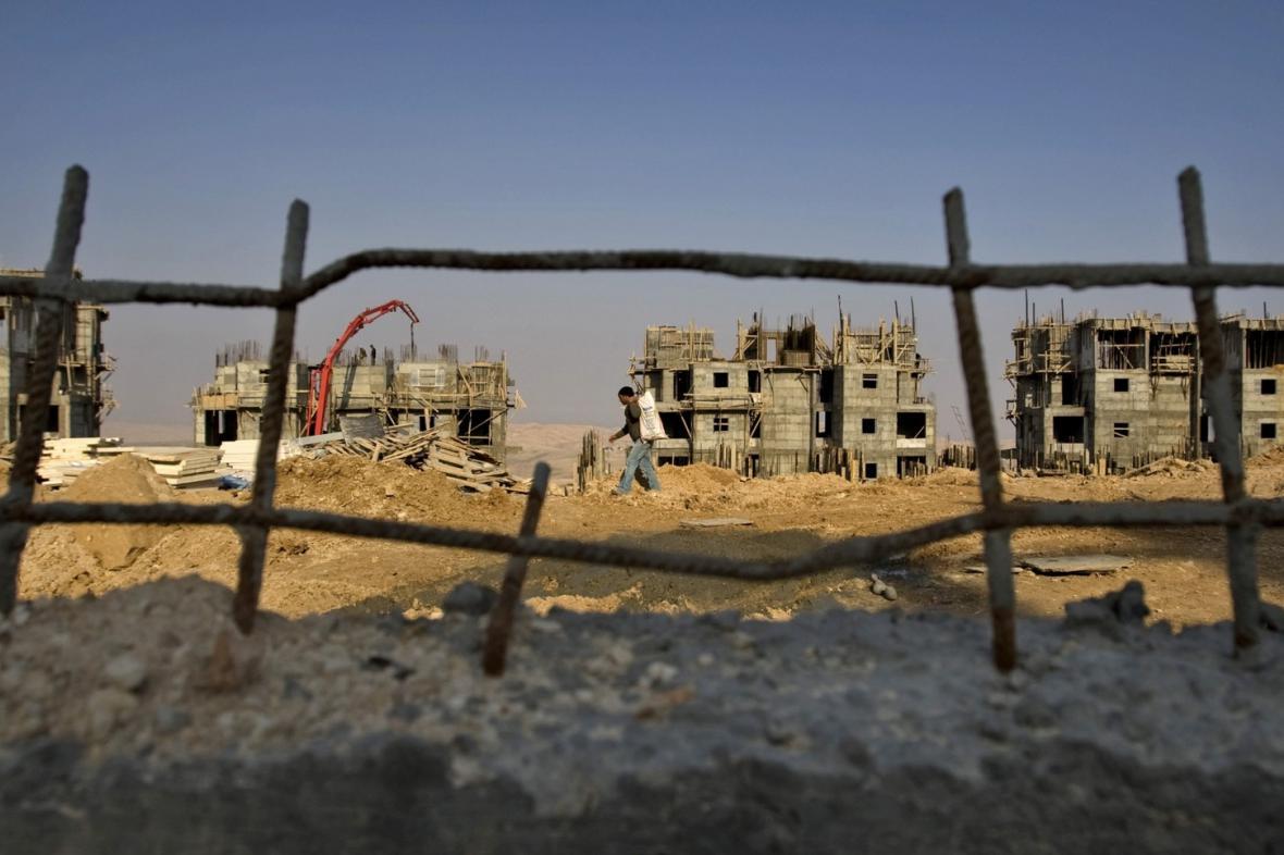 Židovská osada na západním břehu Jordánu