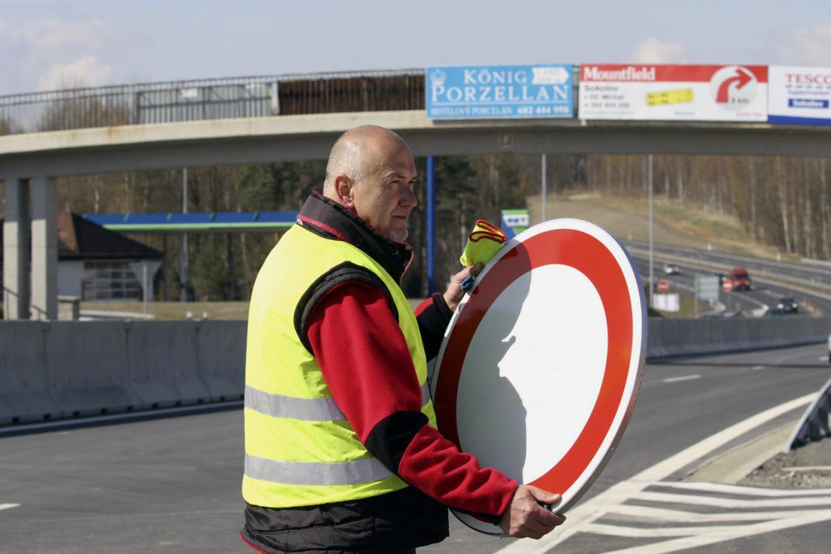 Otevření rychlostní silnice R6