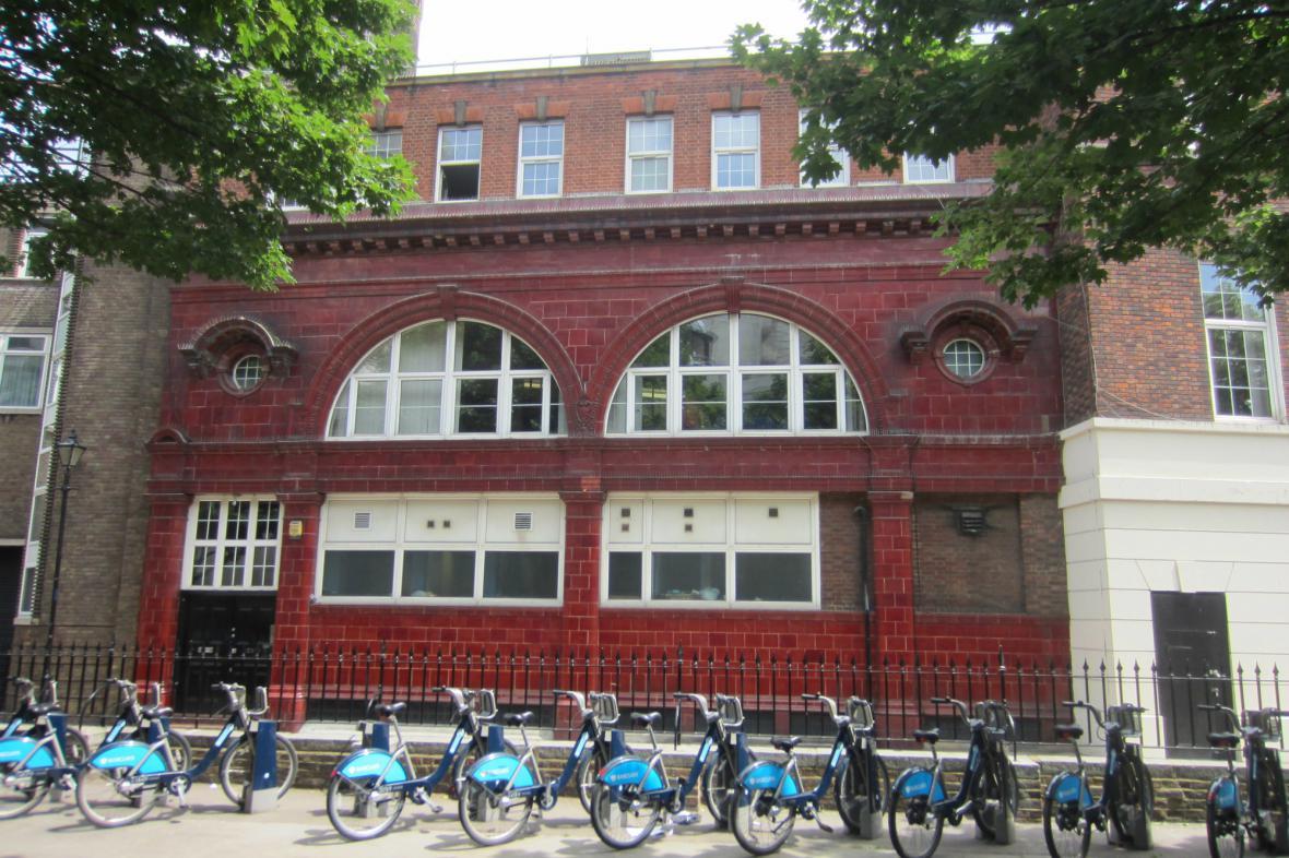 Bývalá stanice metra Brompton Road