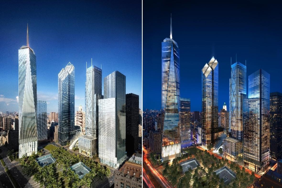 Projekt Daniela Libeskinda Memory Foundations pro Světové obchodní centrum