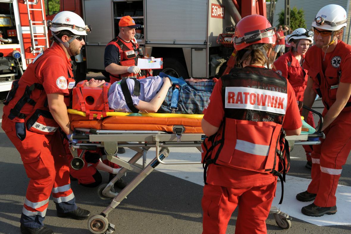 Polští záchranáři - ilustrační foto
