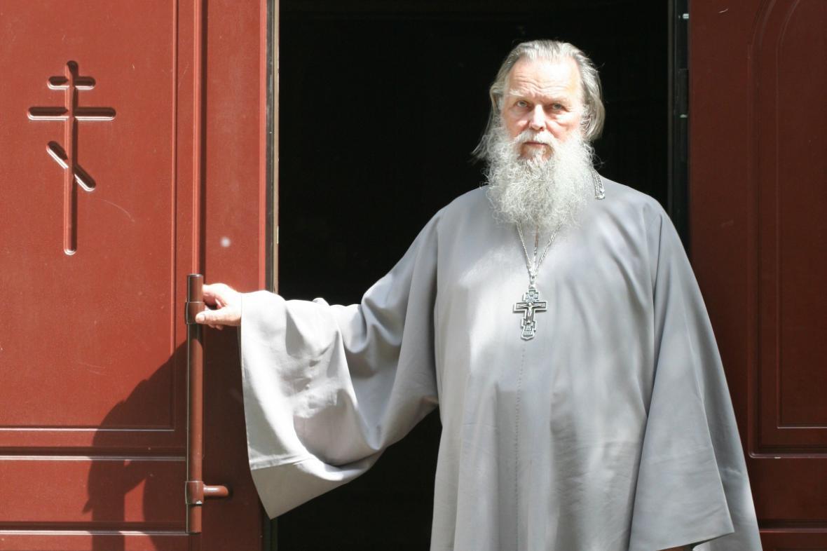 Ruský kněz Pavel Adelgejm