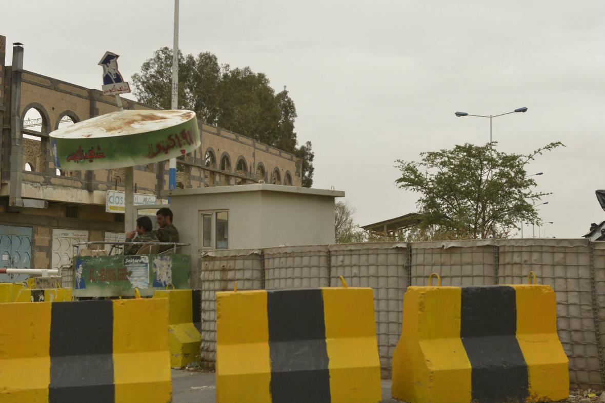 Zavřené americké velvyslanectví v Saná