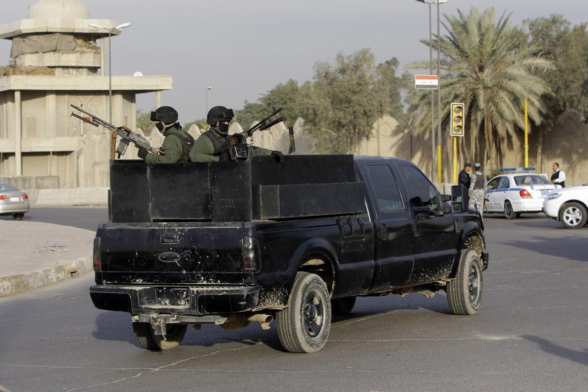 Soukromá bezpečnostní agentura v Iráku