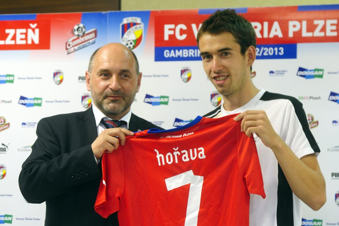 Tomáš Hořava s Tomášem Paclíkem