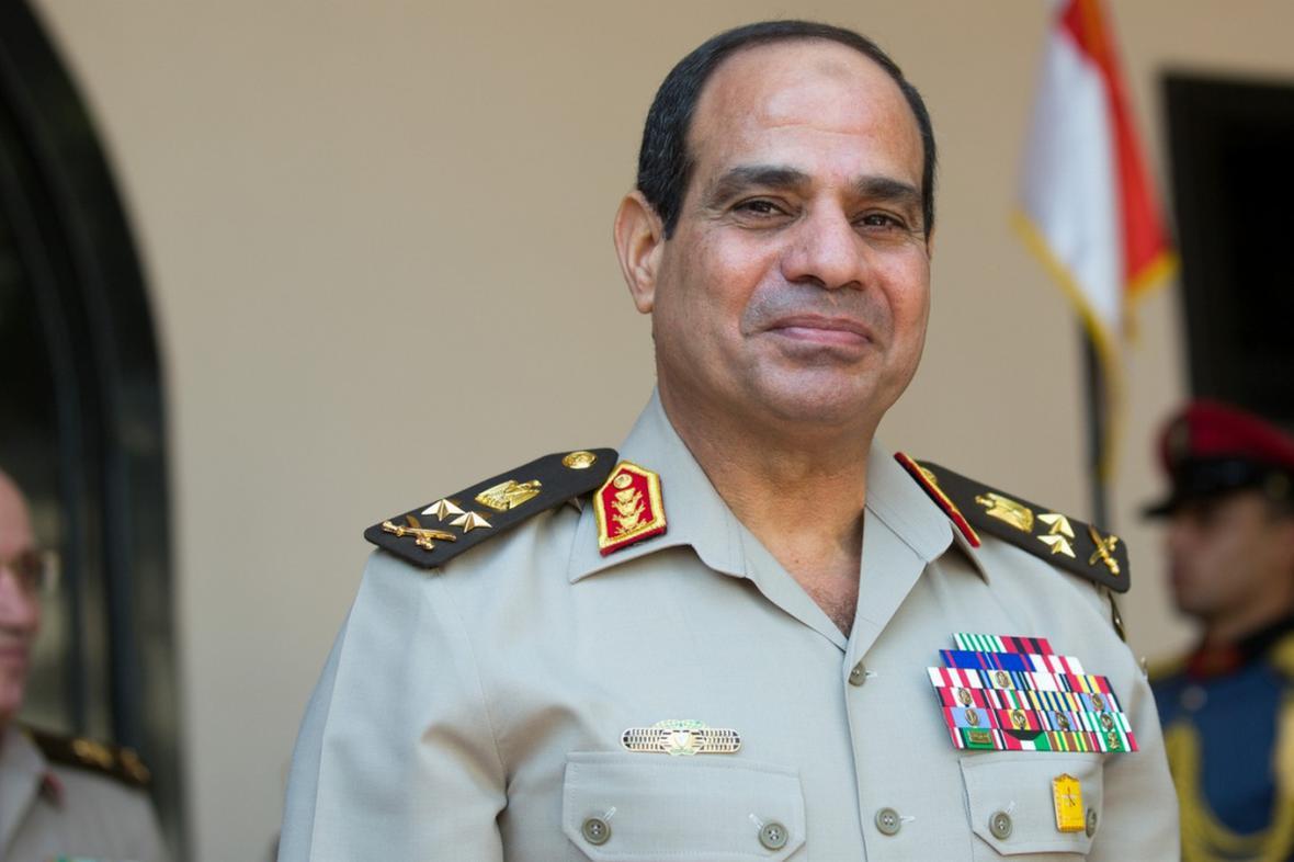 Generál Abdal Fatah Sísí