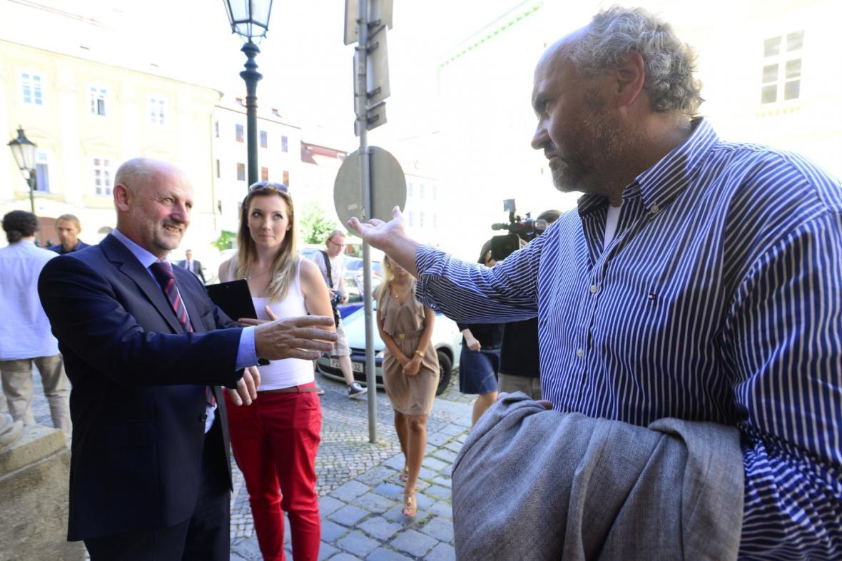 Jiří Balvín a Jiří Fajt