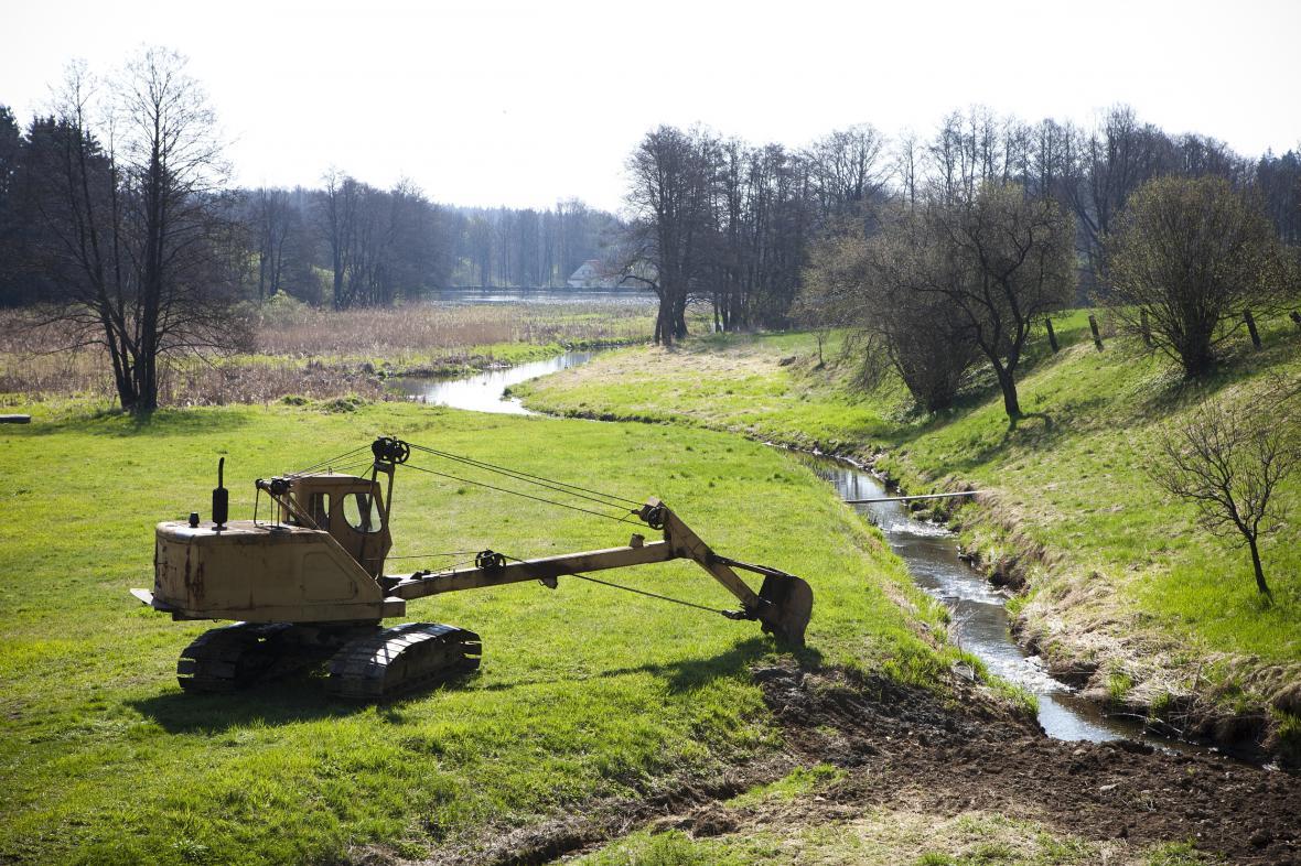 Vodohospodářské práce
