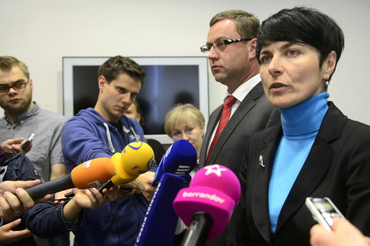 Lenka Bradáčová a Pavel Zeman