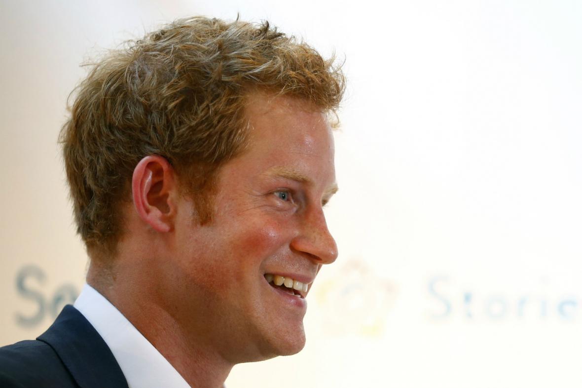 Prince Harry se těší na hlídání svého synovce