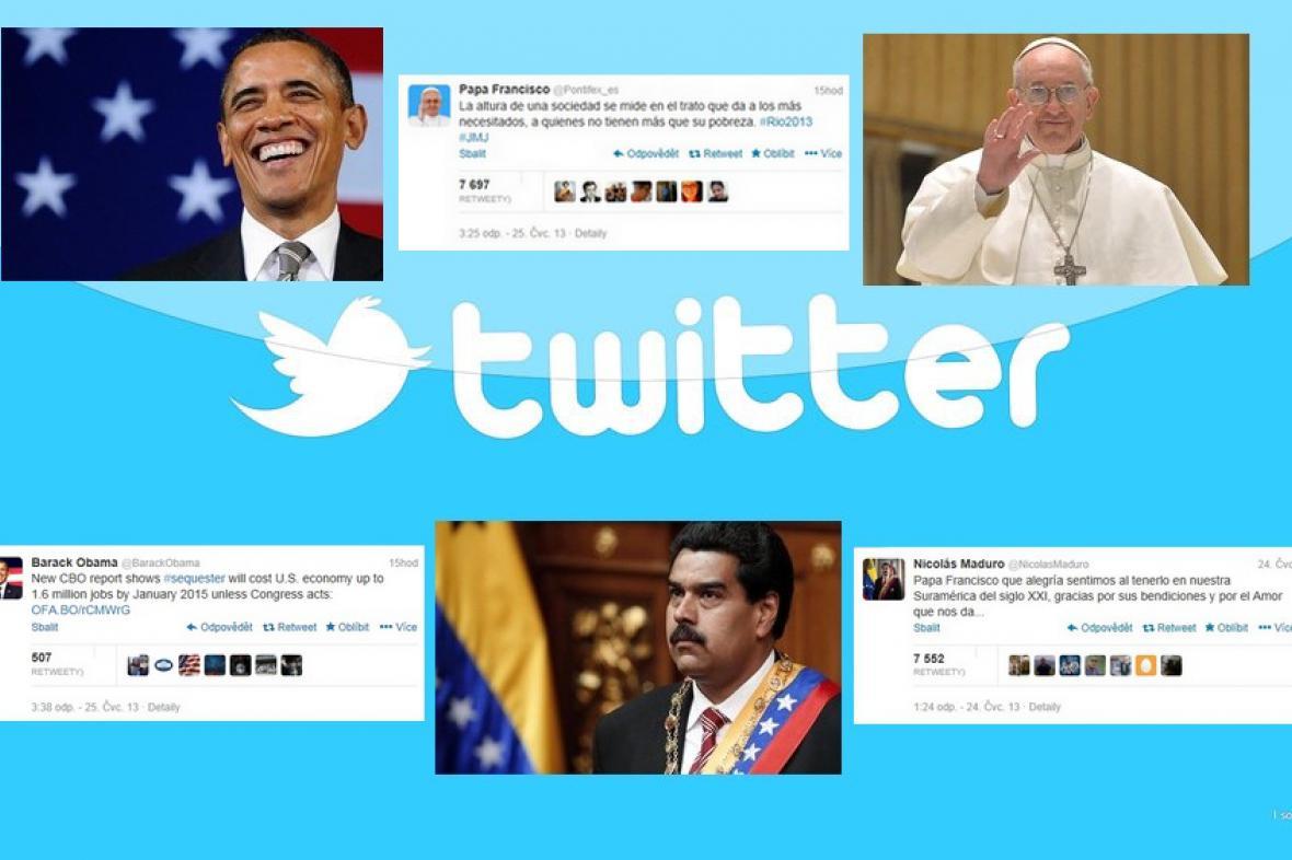 Nejvlivnější politici na Twitteru