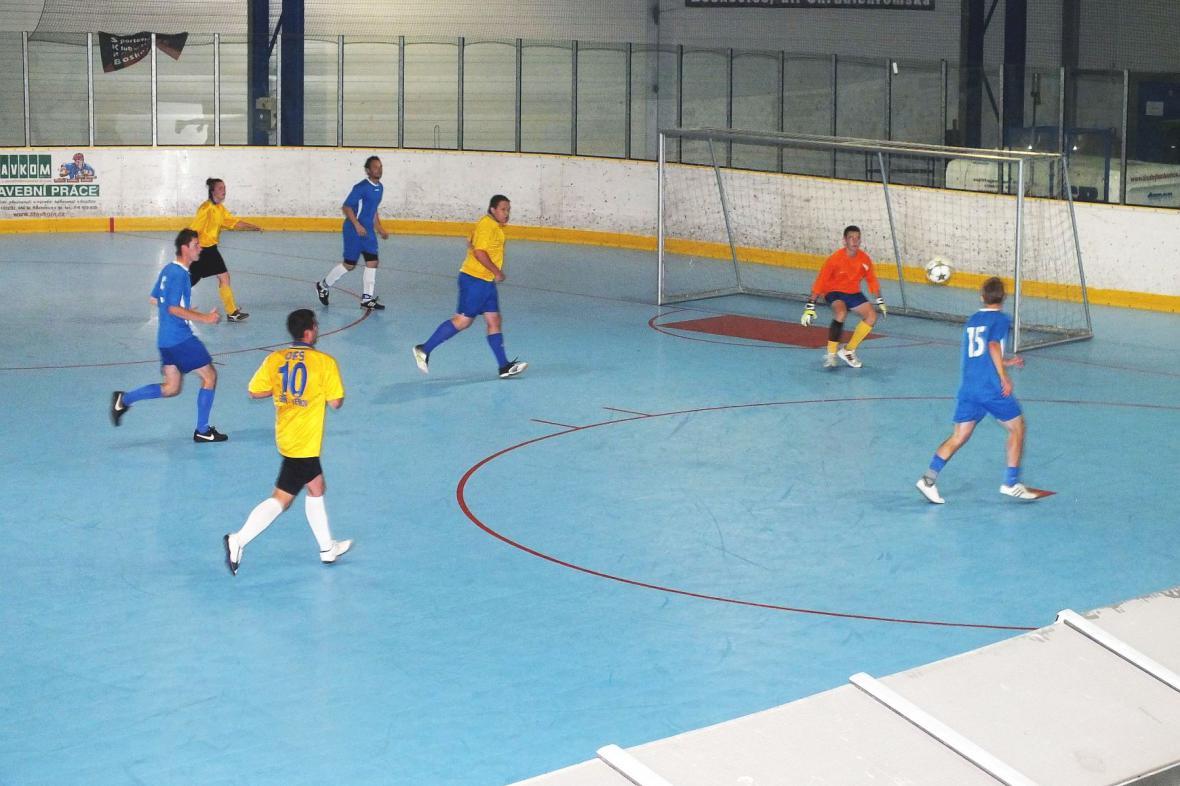 Turnaj v sálové kopané v Boskovicích