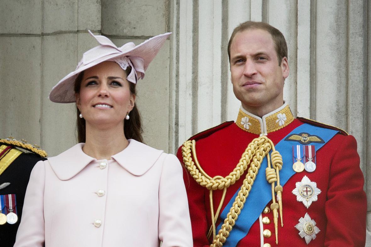 Catherine a William očekávají prvního potomka
