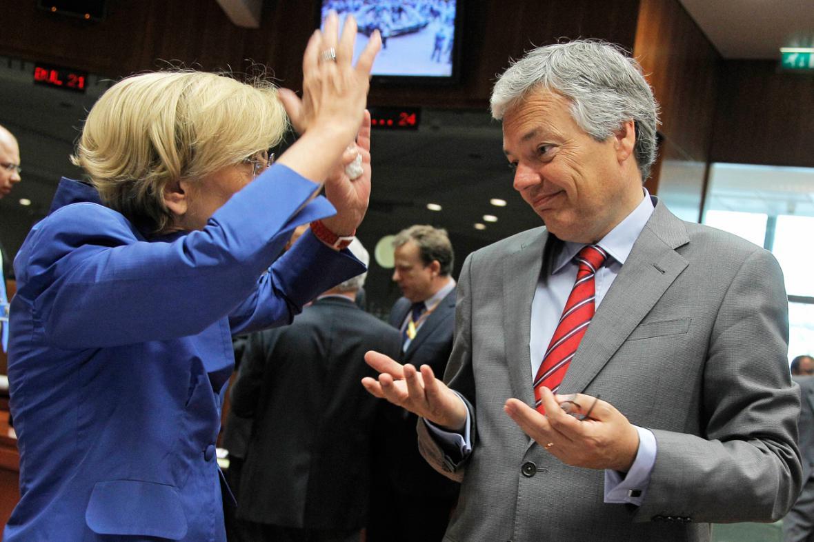 Jednání ministrů zahraničí EU