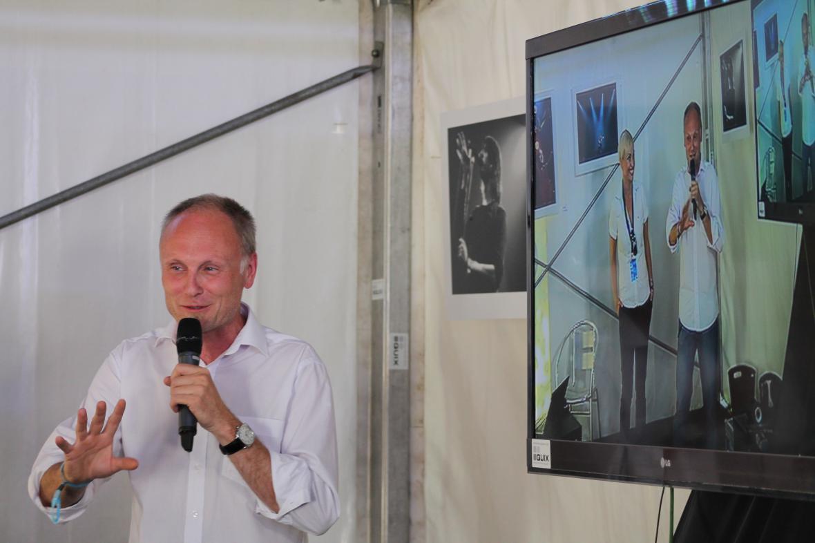 Workshop ve Stanu ČT art vedli Petr Vizina a Gabriela Lefenda