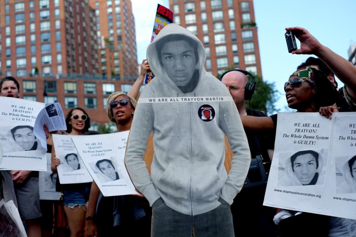 Protesty proti osvobození George Zimmermana