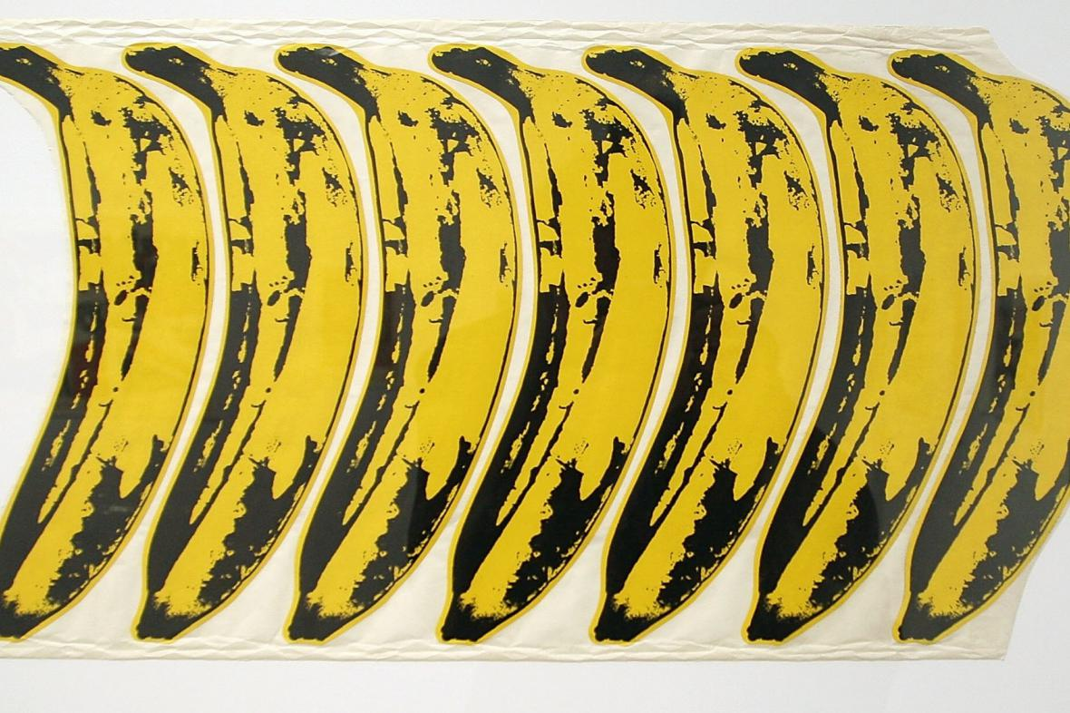 Andy Warhol / design pro The Velvet Underground and Nico