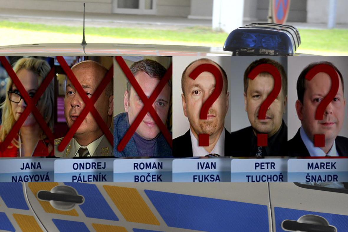 Obvinění v kauze kolem Jany Nagyové