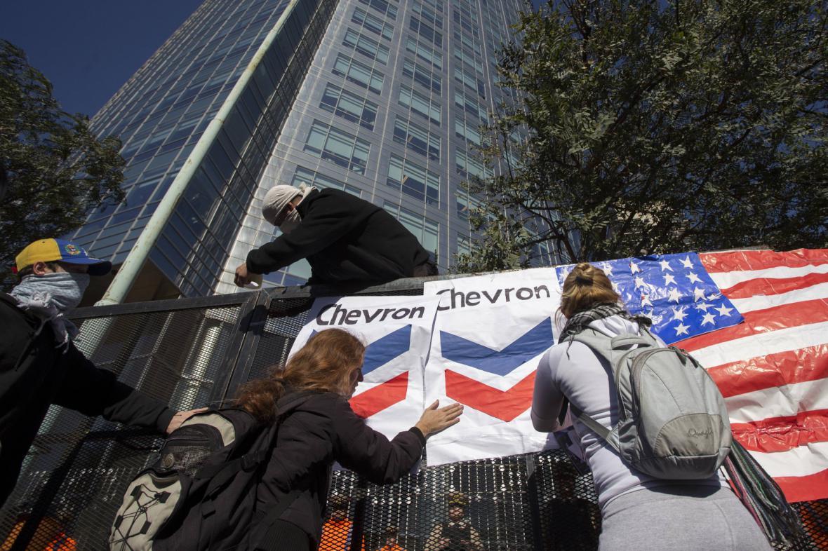 Bouře Argentinců proti Chevronu