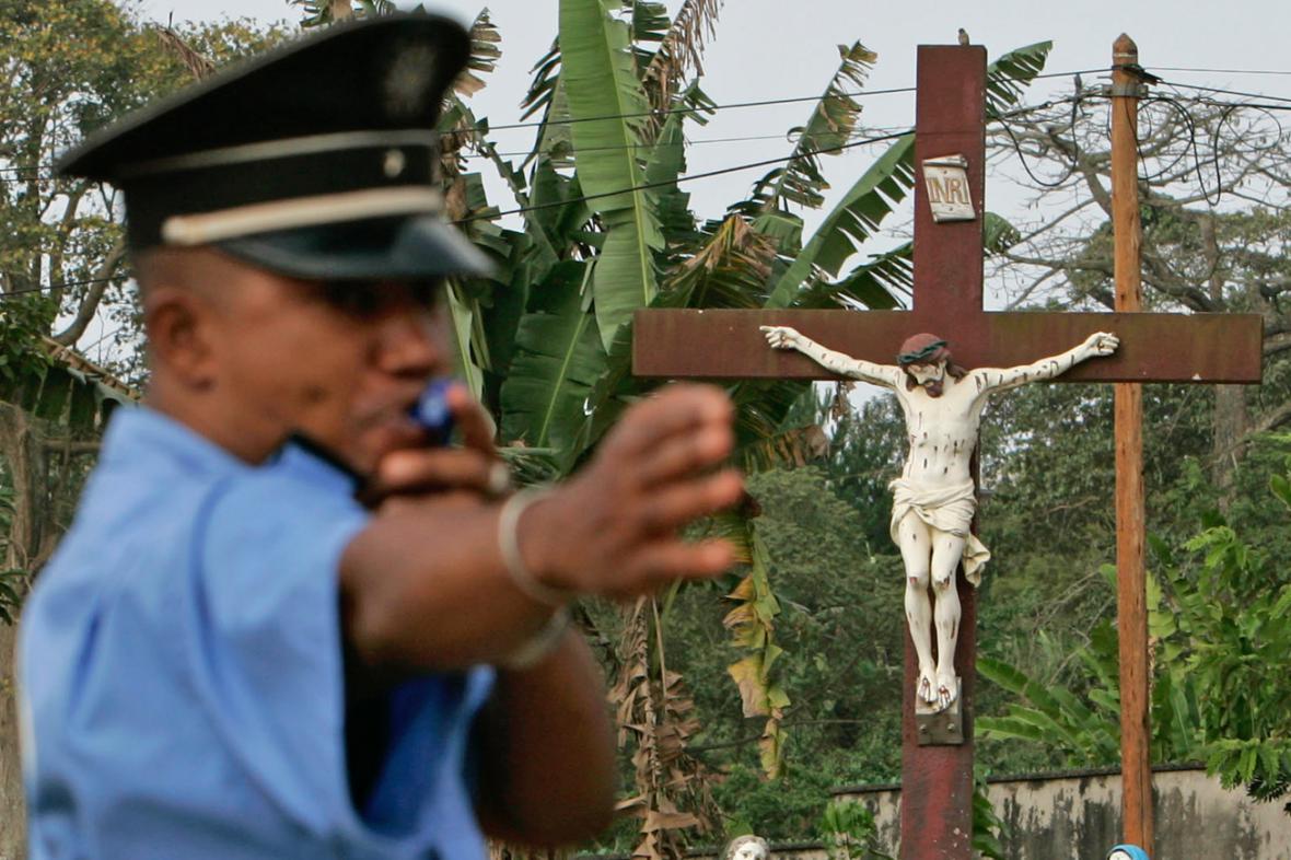 Kamerunská policie
