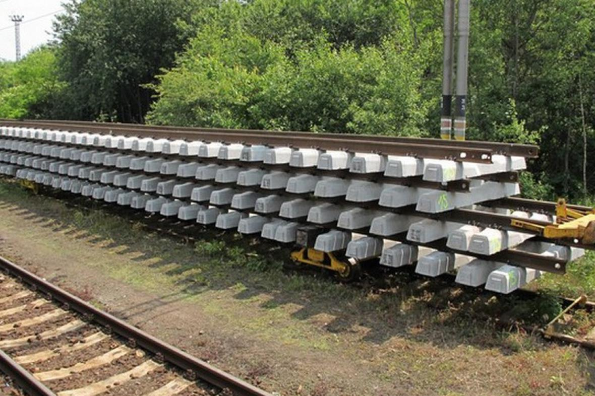 Stavba trati