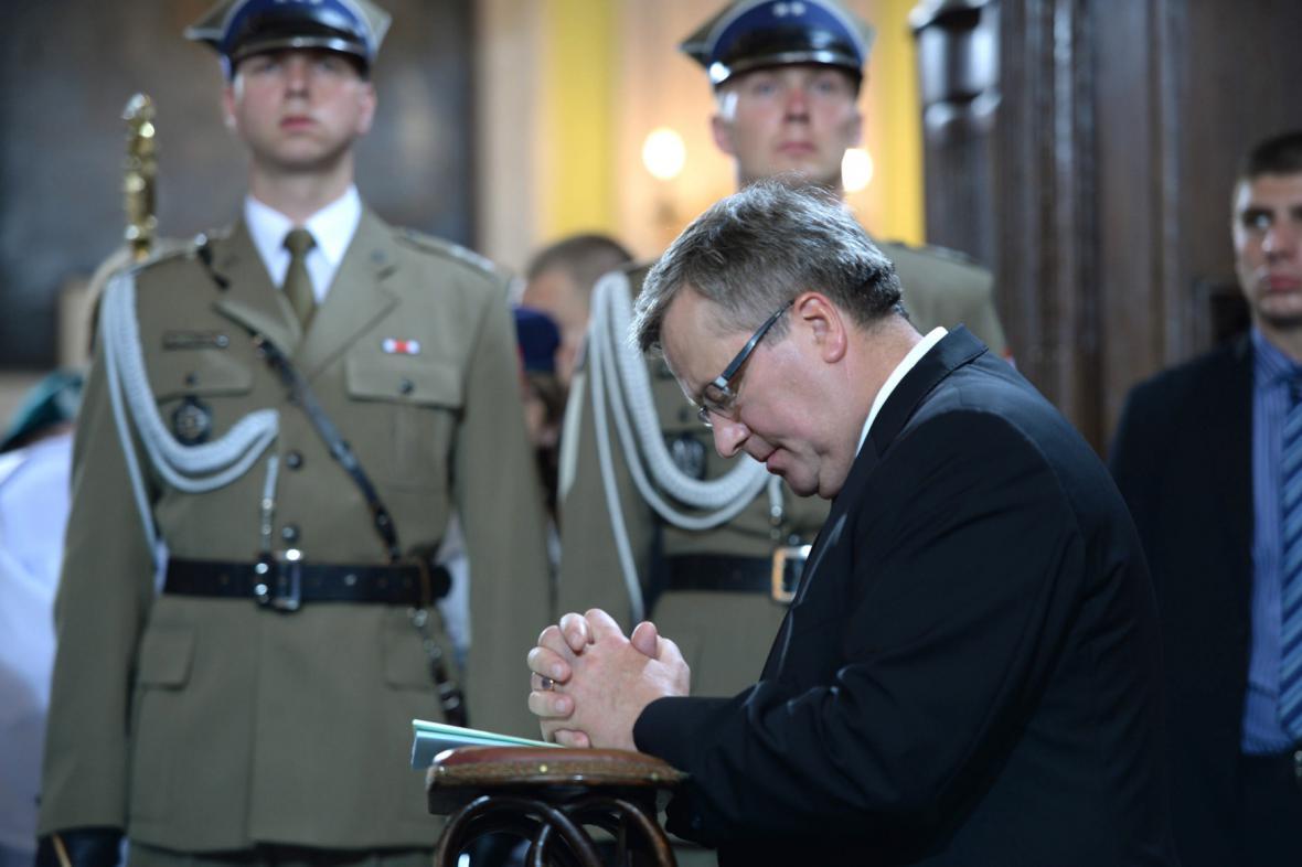 Polský prezident Komorowski