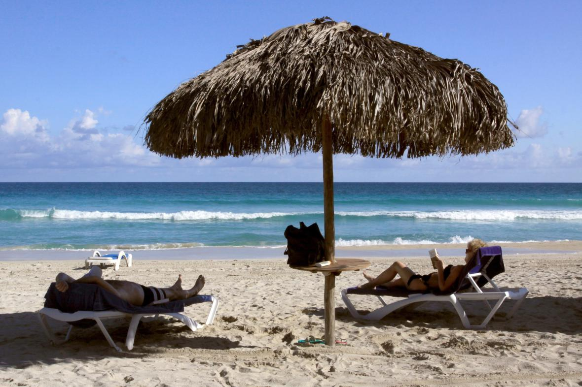 Pláž u Varadera