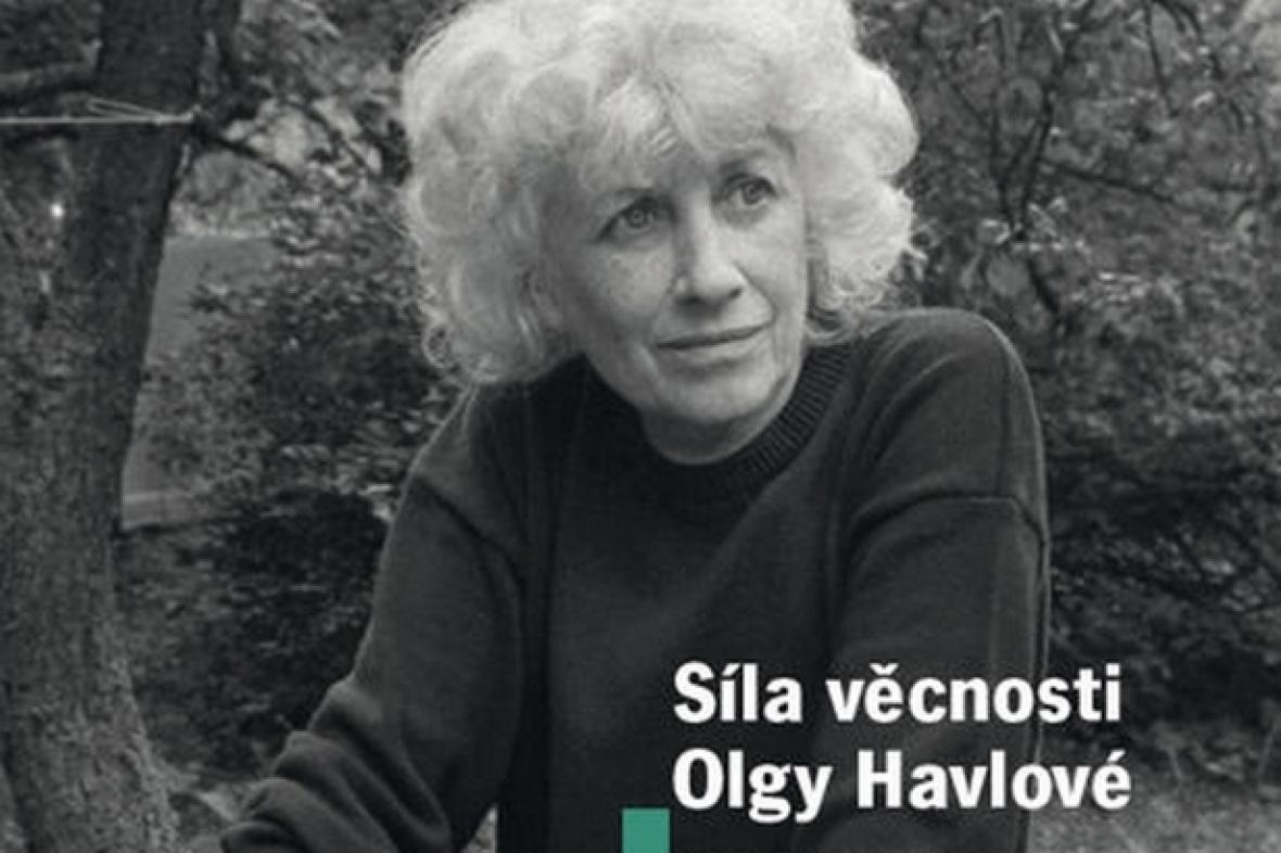 Obálka knihy Síla věcnosti Olgy Havlové