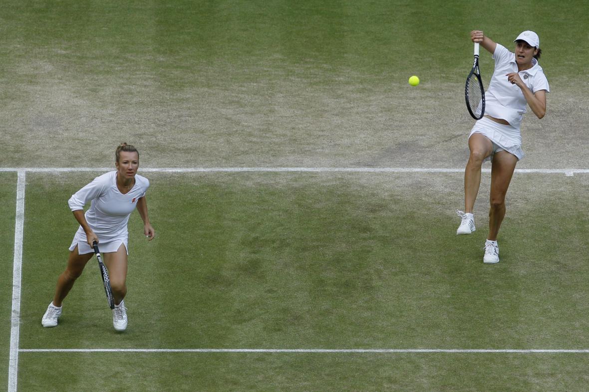 Finále ženské čtyřhry na Wimbledonu