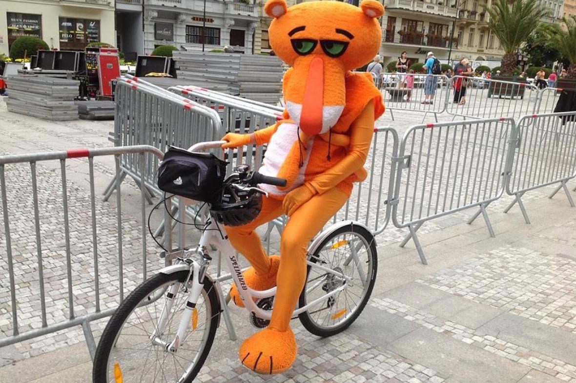 Panter na kole