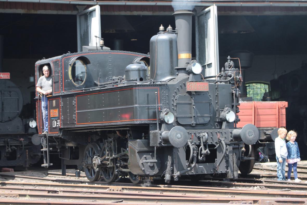 Z víkendových jízd parních vlaků