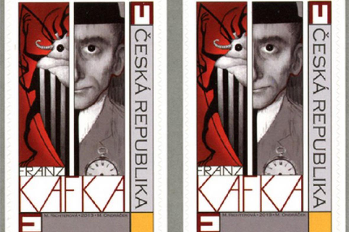 Franz Kafka na známce