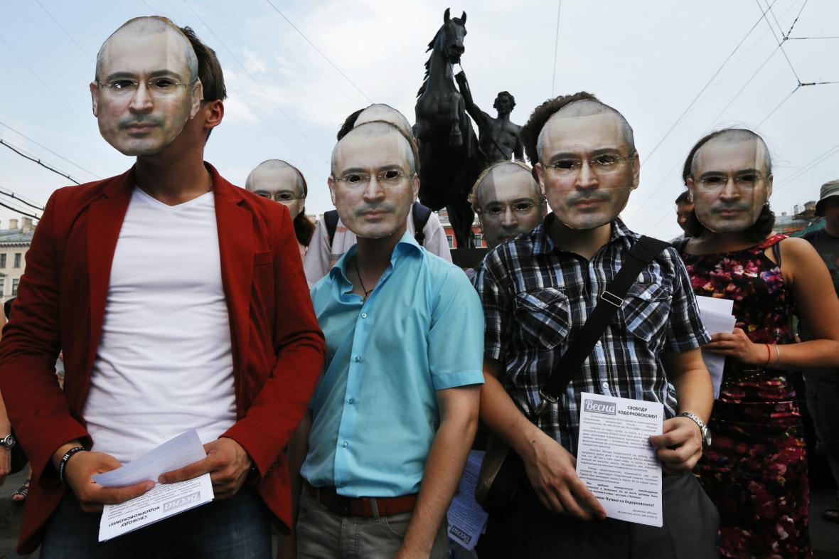 Akce na podporu Chodorkovského