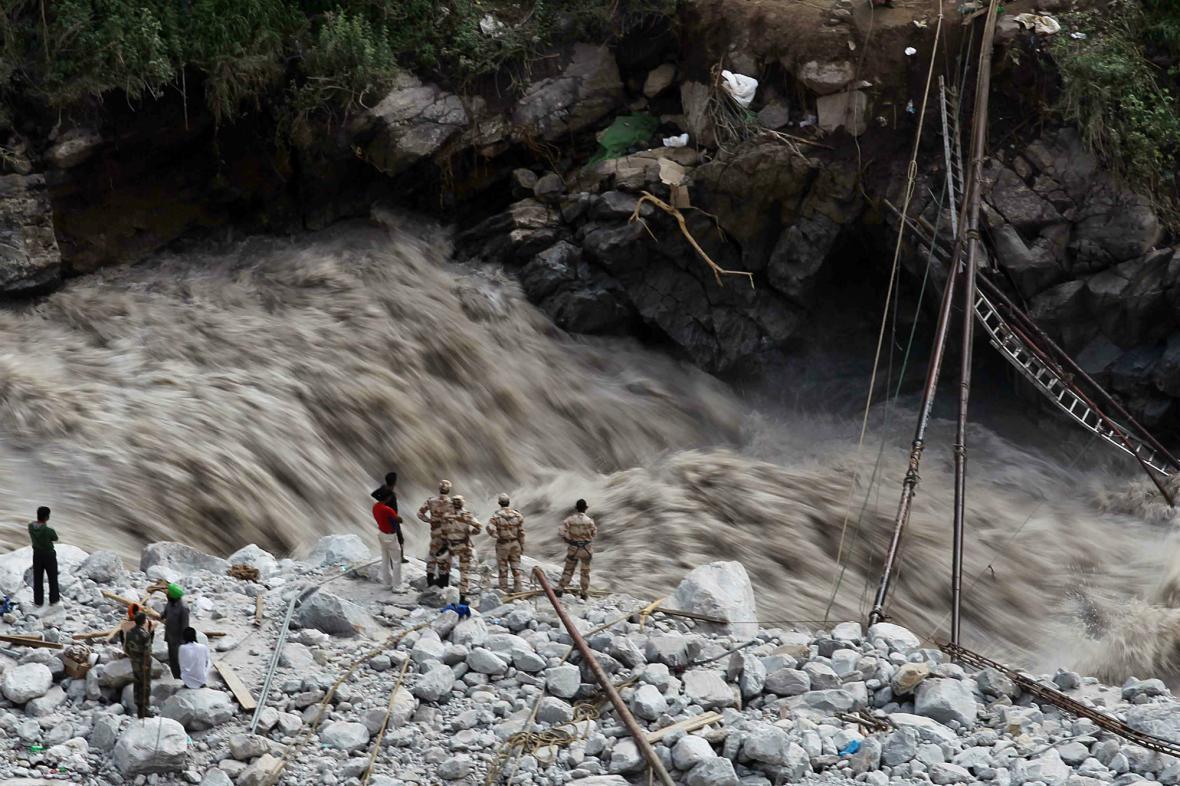 Monzuny způsobily v Indii záplavy