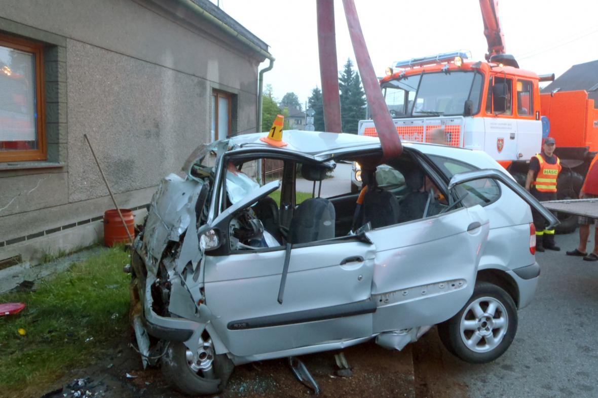 Nehoda ve Frýdku-Místku