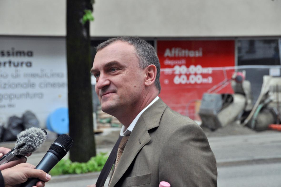Antonín Koláček v Bellinzoně
