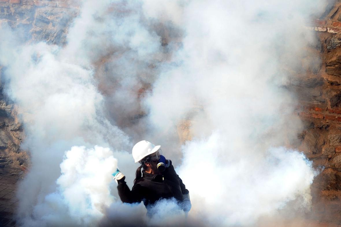 Nepokoje v Turecku