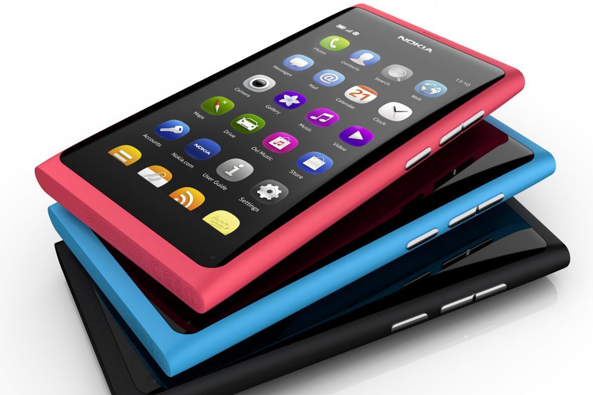 Nokia N9 se systémem MeeGo