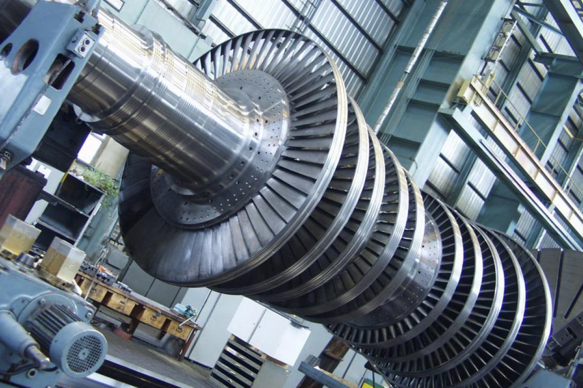Část turbíny pro JE Temelín