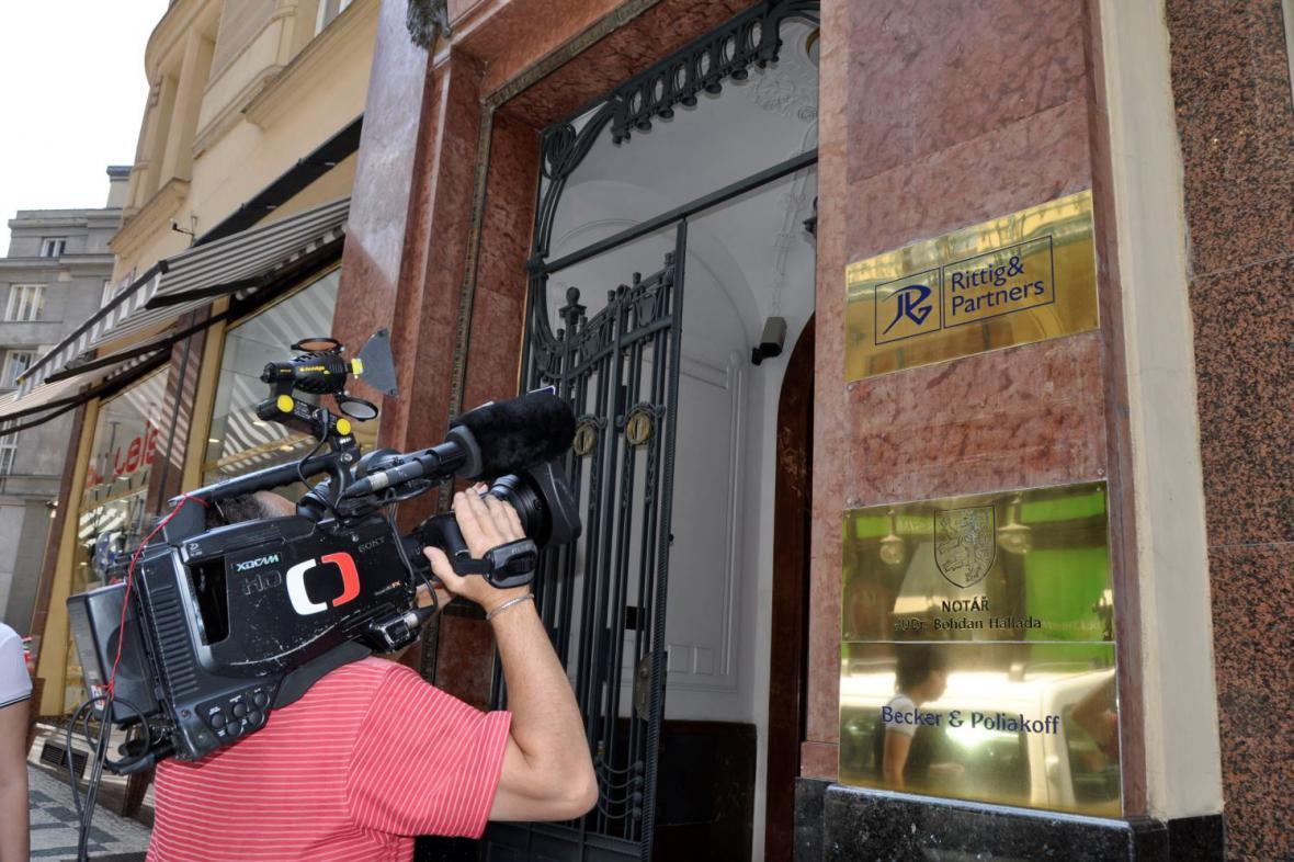 Policisté zasahovali v sídle firmy lobbisty Rittiga