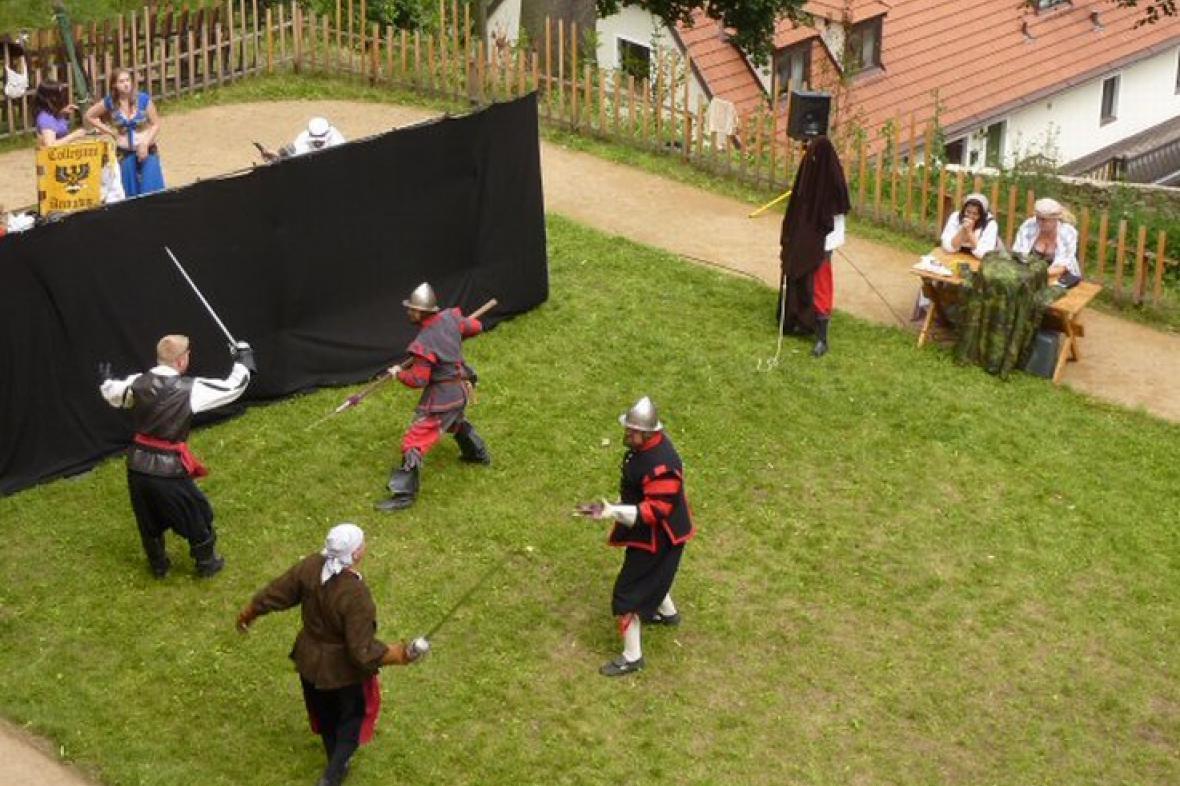 Bitva o zámek v Mníšku