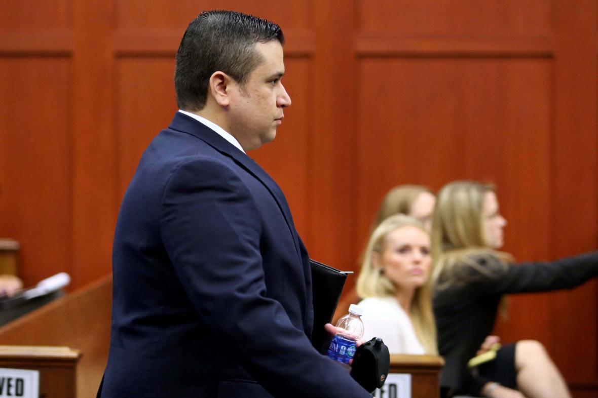 George Zimmerman u soudu