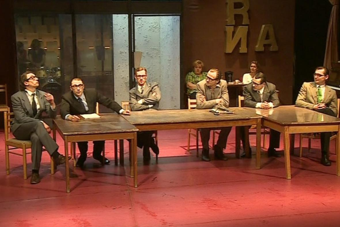 Rozlučkové představení v Redutě Ende gut, alles gut