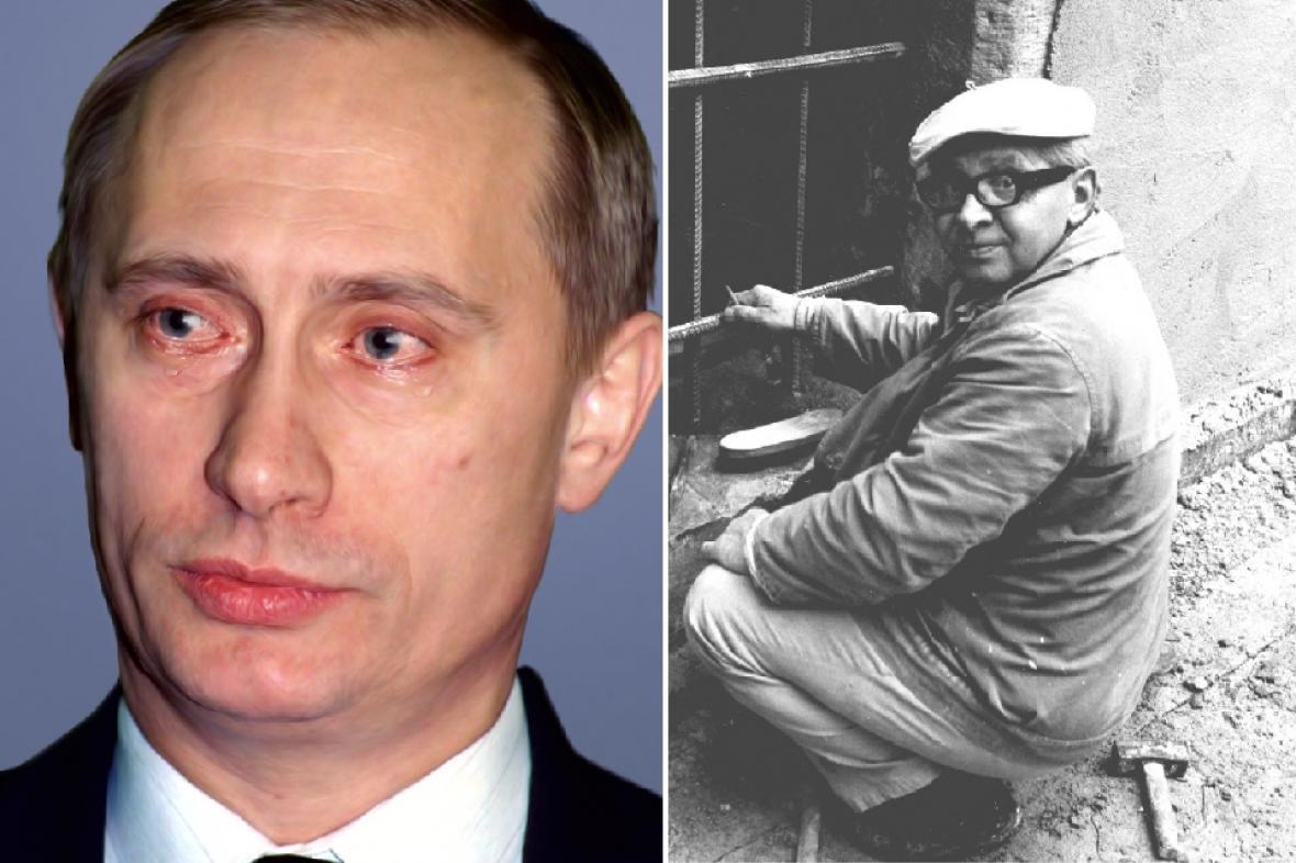 Smetanova výtvarná Litomyšl: Vladimir Putin a Václav Boštík